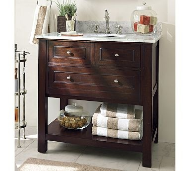 Replacing A Pedestal Sink With A Vanity : ... Sink Bathroom Vanity and Replacing Bathroom Vanity With Pedestal Sink
