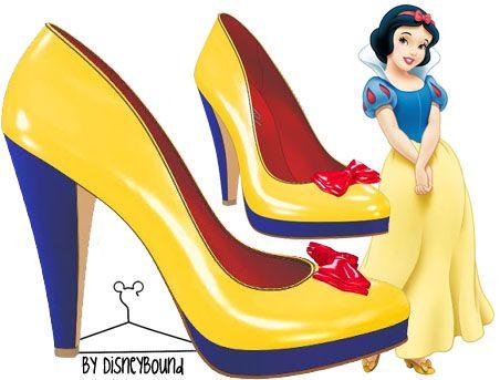 Snow White - Shoes | Disneybound | Pinterest Cheryl Coleman