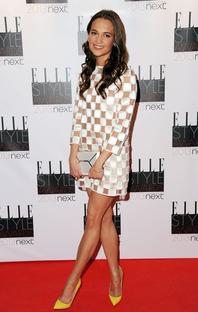 Elle style awards red carpet arrivals