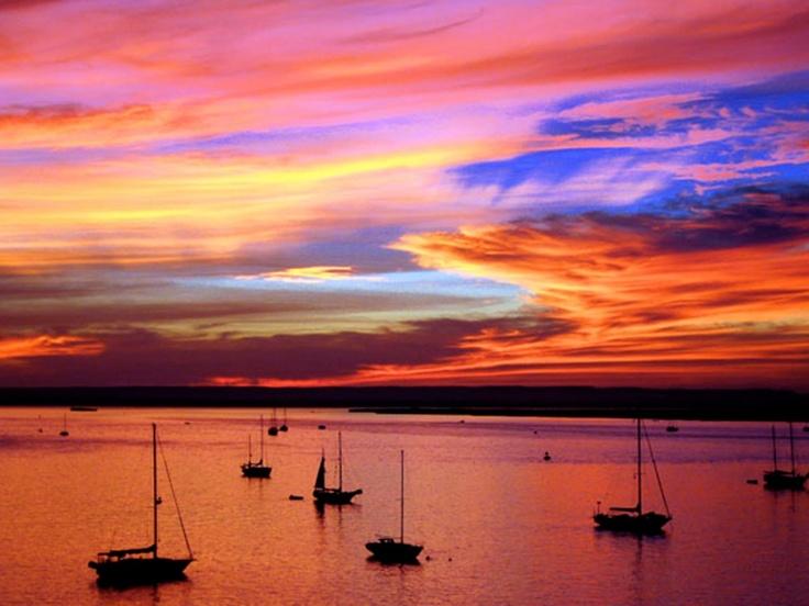 Breathtaking La Paz sunset! | Sunrise and Sunsets | Pinterest