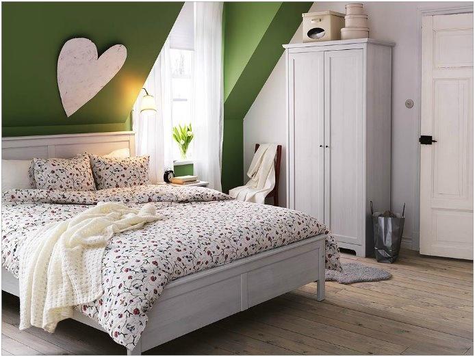 green love attic bedroom bedroom pinterest