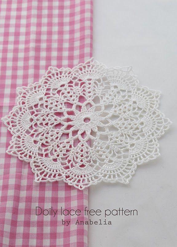 Crochet doily by Anabelia | Crochet (Stitches) | Pinterest