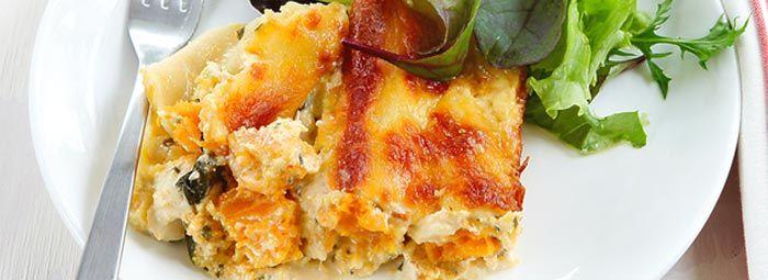 Pumpkin, Ricotta & Spinach Pasta Bake | Pumpkin | Pinterest
