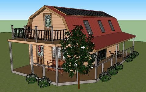 Build a new house for $12,000