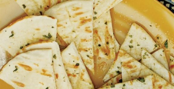 Garlic-Oregano Grilled Pita Bread Recipe