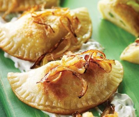 Pierogi With Potato Filling And Brown Butter Recipe — Dishmaps