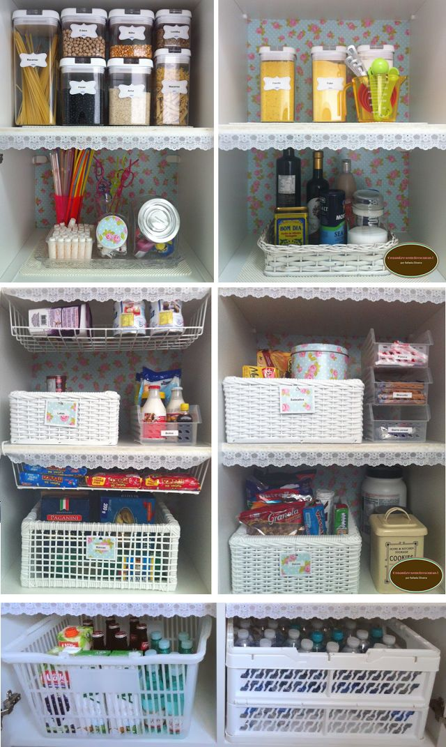 Organizando a dispensa; how to organize your pantry