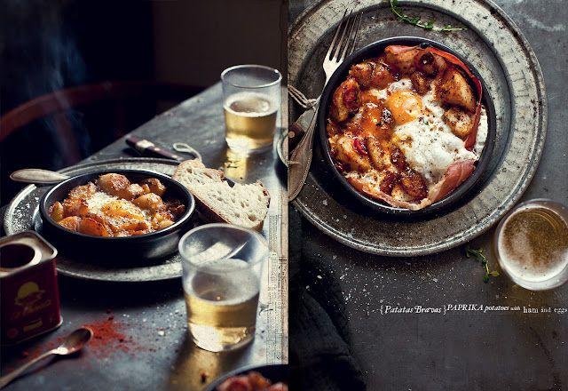 Tapas Potatoes, Parma Ham & Eggs | Tasty - Savory | Pinterest