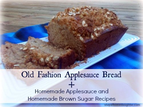 applesauce bread | Favorite Recipes | Pinterest