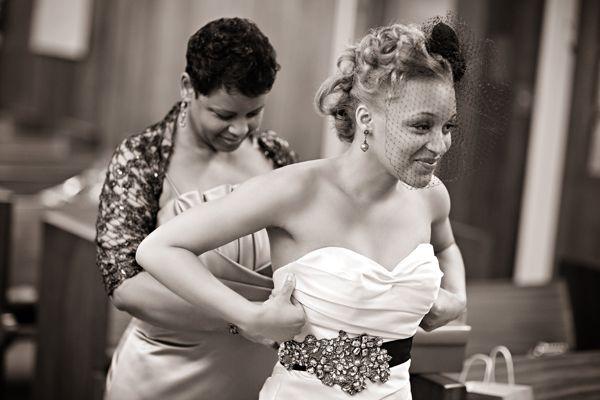 Real {Philadelphia} Wedding: Diona + Brian - Munaluchi Bridal Magazine