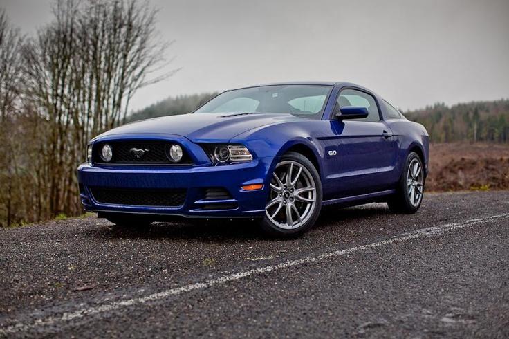 2013 Mustang Gt Deep Impact Blue Mustangs Pinterest