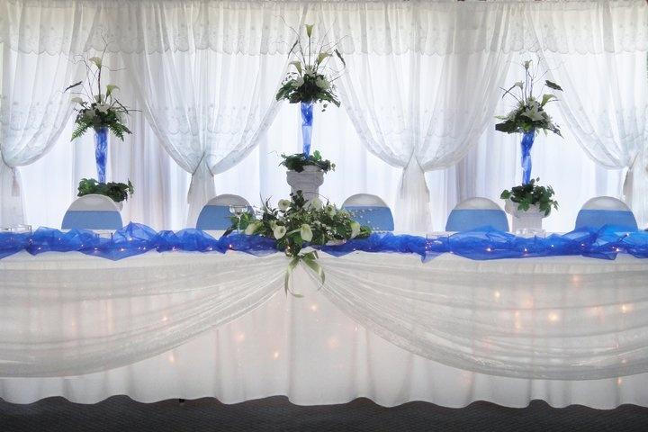 decoration mariage table d'honneur