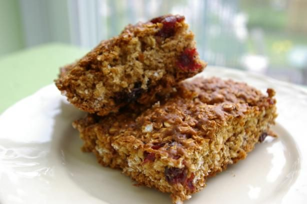 Chewy Fruit & Oatmeal Bars. Photo by Redsie