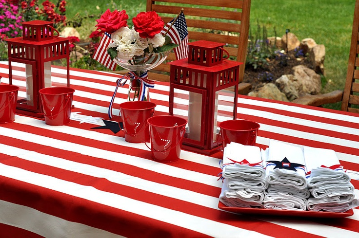 4th of july party ideas on pinterest