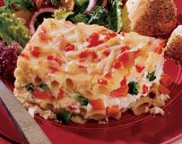 Four-Cheese Mostaccioli Vegetable Lasagna | Wisconsin Milk Marketing ...