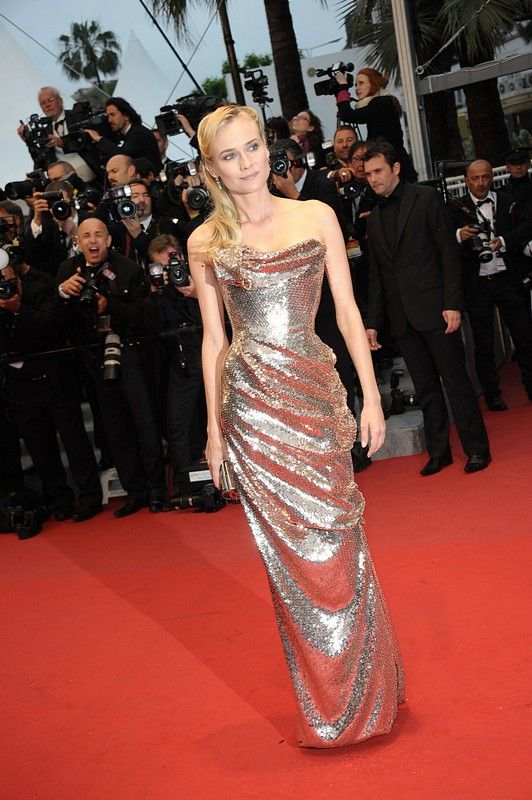Diane Kruger in Vivienne Westwood Couture, Cannes 2012