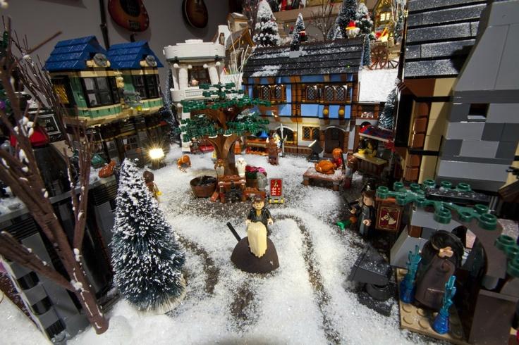 Home design image ideas lego christmas village ideas