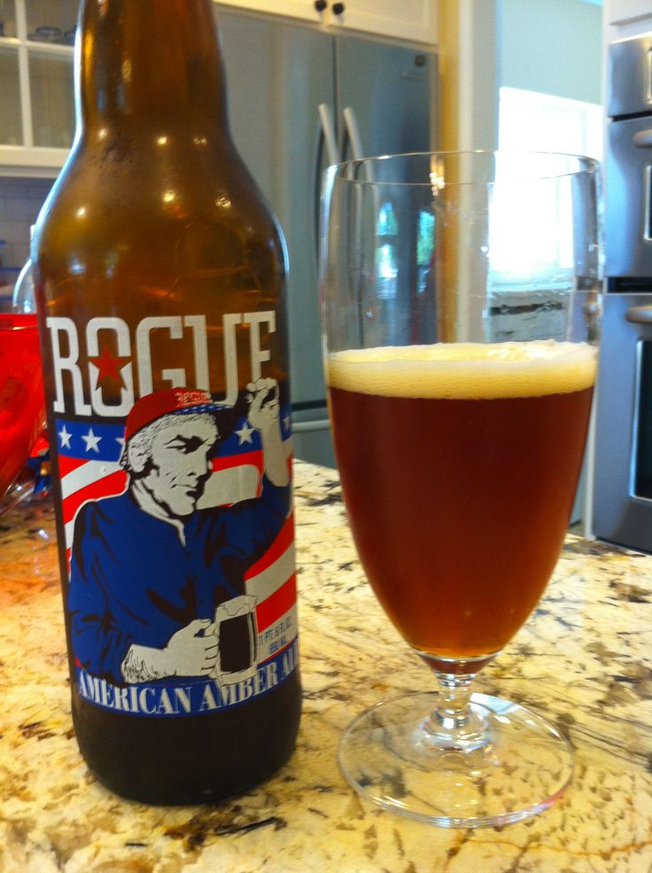 Rogue American Amber Ale | Beers tried | Pinterest