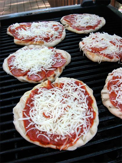 Pizza on the Grill | Recipes | Pinterest