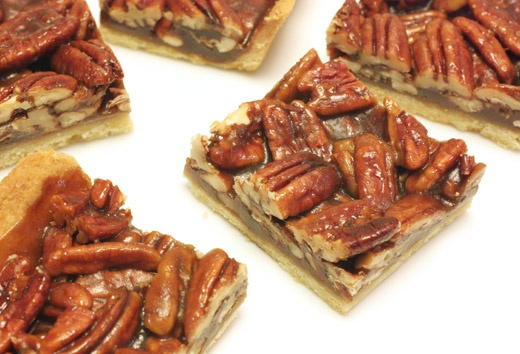 pecan squares | Heavenly Sweets | Pinterest