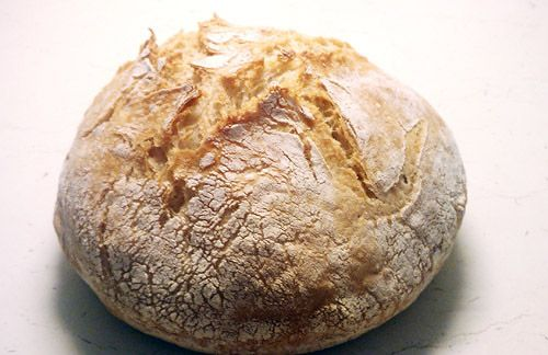 No-knead bread-aka herb farm bread!! :) ...but in russian??
