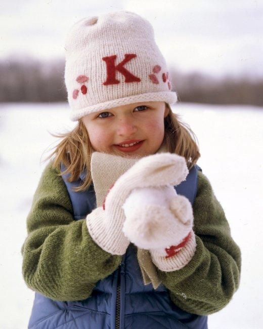 Monogrammed Woolens How-To