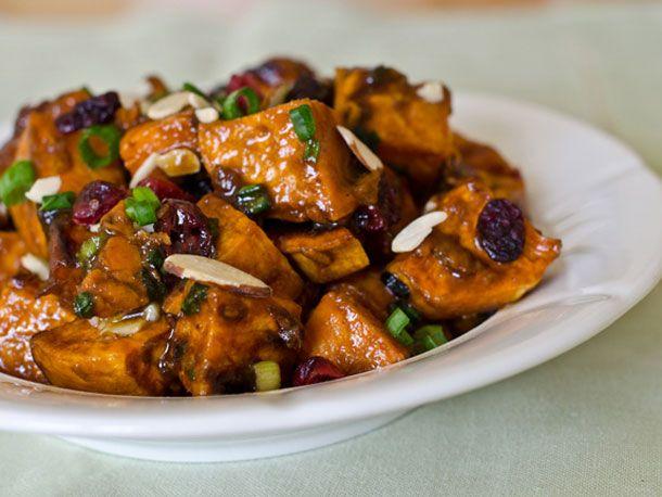 Roasted Sweet Potato Salad with Chutney Vinaigrette | Serious Eats ...