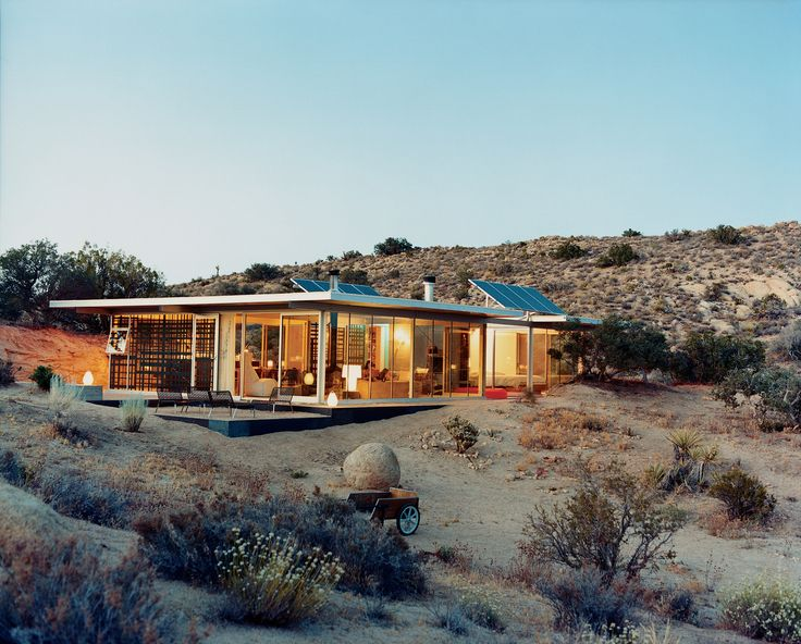 Dwell it desert home in joshua tree architectural gems for Dwell houses