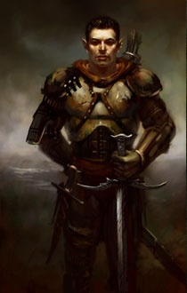 via PlanetBaldursGate - elven ranger fantasy portraitElven Ranger Portrait