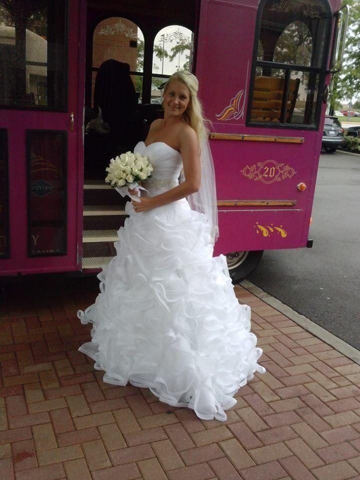 the dress david 39 s bridal buffalo trolley sabers flower shop