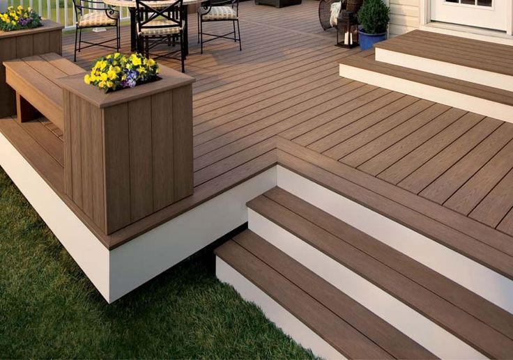 trex escapes decking wct distributors outdoor patio pinterest - Trex Deck Design Ideas