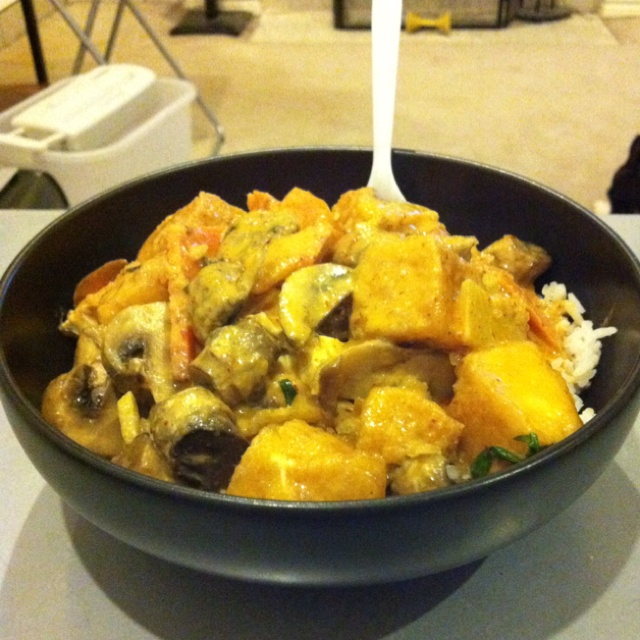 Red Thai curry with tofu | Food for the Soul | Pinterest