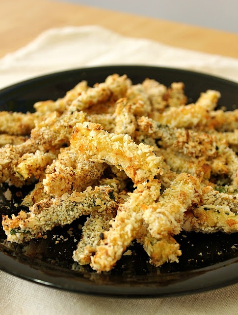 BAKED ZUCCHINI FRIES | Food | Pinterest