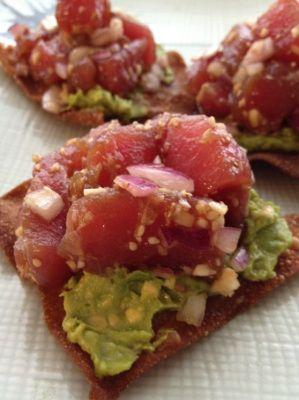 Ahi Tuna Poke | HEALTHY EATING | Pinterest