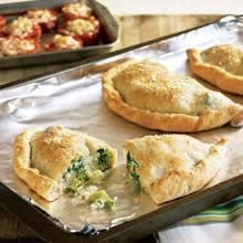 Broccoli and Ricotta Calzones recipe | Main Dishes | Pinterest