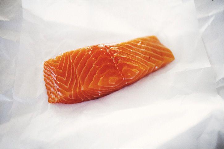 Walnut Crusted Wild Salmon & Edamame Mash Recipe — Dishmaps