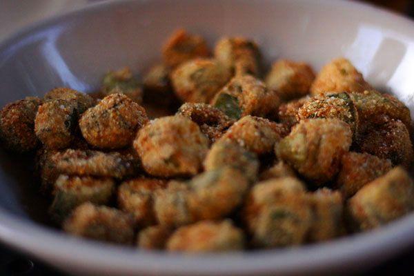 Fried Okra | Get In My Belly | Pinterest