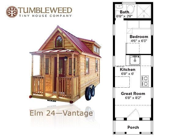 Downstairs sleeping for two real people tiny house for Tiny house with main floor bedroom