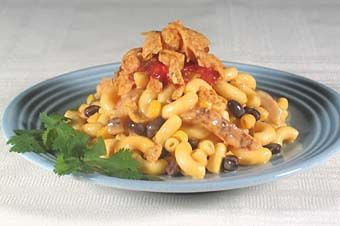 Chicken Fajita Veggie Mac and Cheese. Yields approximately 50 (9 oz ...