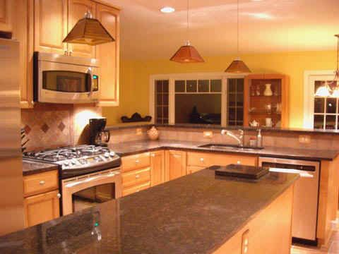 Kitchen for the home pinterest for Bi level kitchen remodel ideas