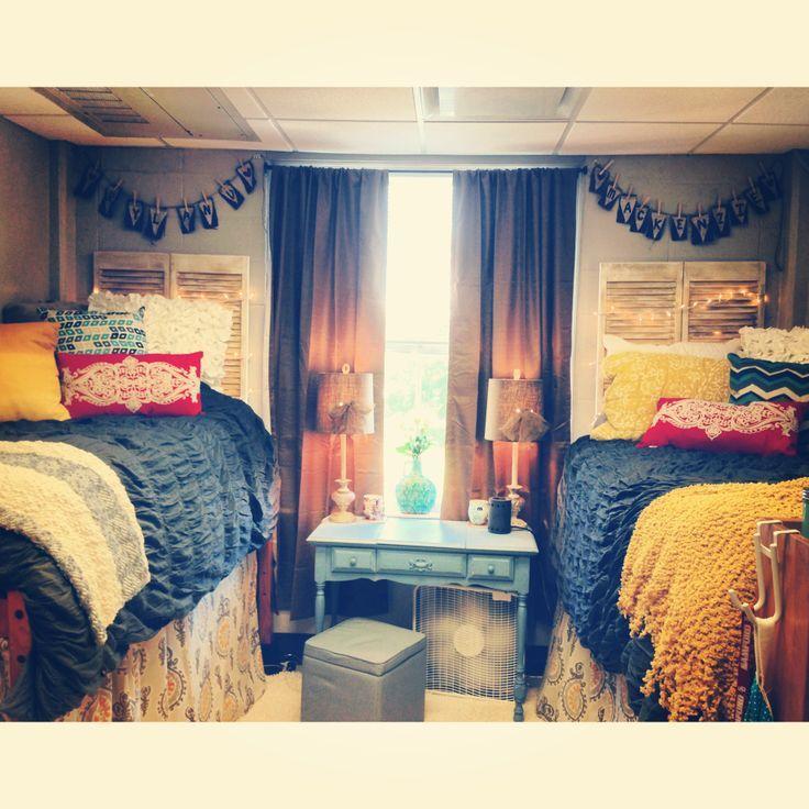 Auburn University Dorm Rooms College Pinterest