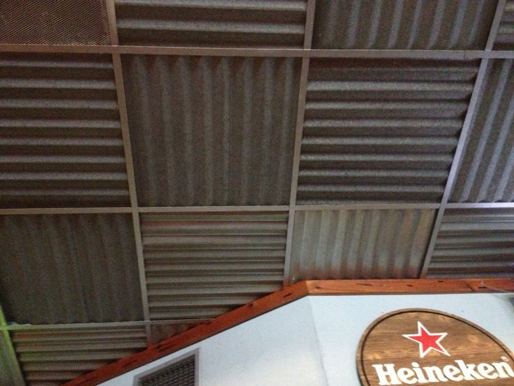 Replace drop ceiling tiles
