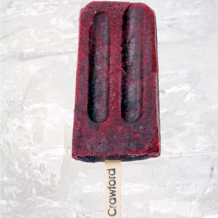 Pinot Noir-Infused Blackberry Ice Pops Recipes — Dishmaps