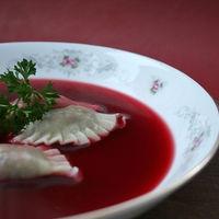 Ukrainian Red Borscht Soup by Catherine | UKRAINIAN SOUPS | Pinterest