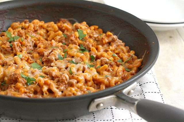 Cheesy Chili Mac | intake | Pinterest