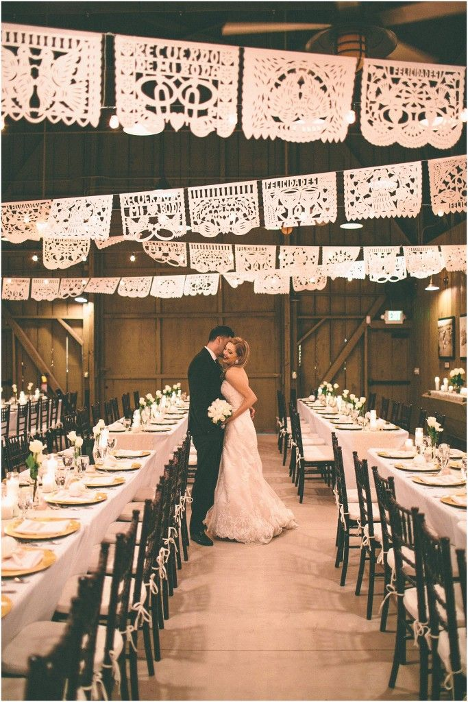 Mexican papel picado wedding