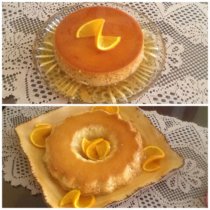 Creamy Orange Flan   An Occasional Bite by Janice Cornejo   Pinterest