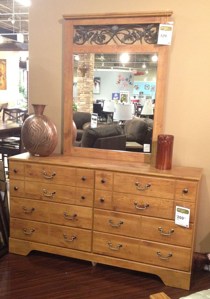 Bittersweet dresser mirror with the replicated pine for Furniture kennewick wa
