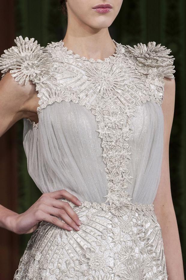 Oscar Carvallo Haute Couture Spring 2013 Details