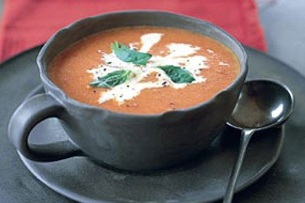 Cream of tomato soup recipe - this one sounds really good.